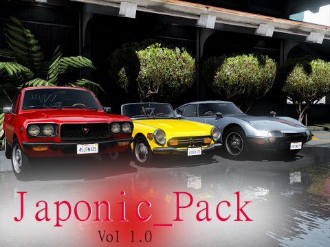 Japonic Pack Vol 1.0 [Add-On | Template | Extras] 1.1