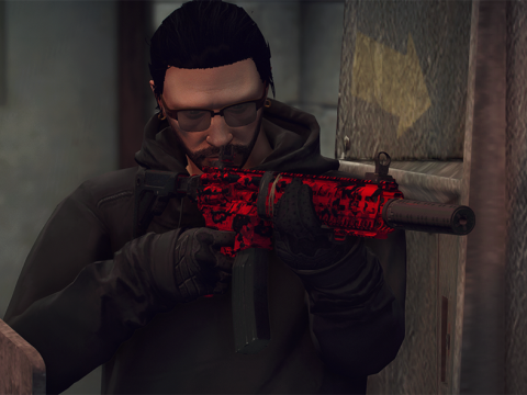 M13 - Red Tiger from COD:MW 1.0
