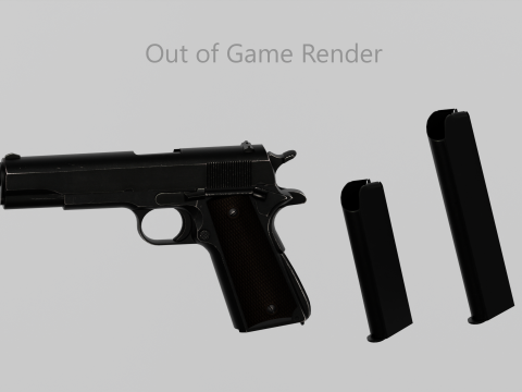 M1911A1 Animated From EFT [Singleplayer & Fivem] 1.1