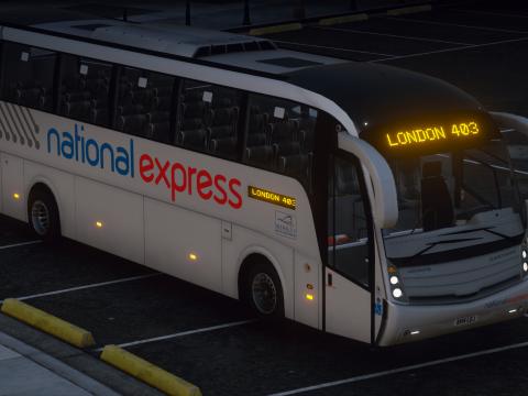 National Express - Salvador Caetano Levante - Volvo B9R - Coach 1.0