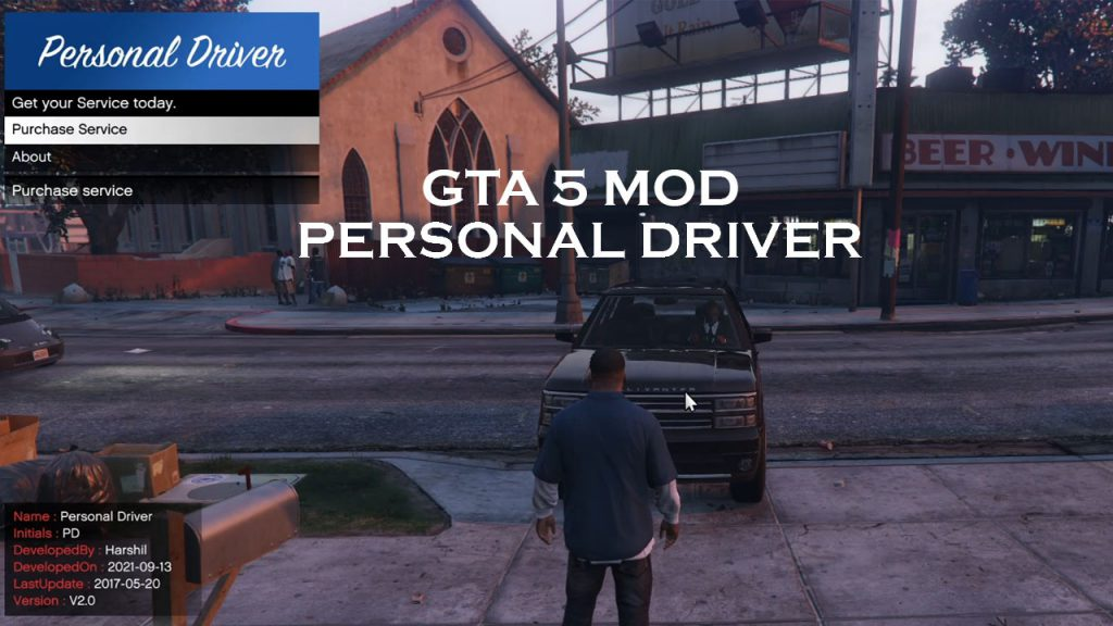 PD (Personal Driver) 2.0