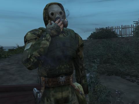 S.T.A.L.K.E.R. - Sunrise Suit (Gasmask) [Addon-Ped] 1.0