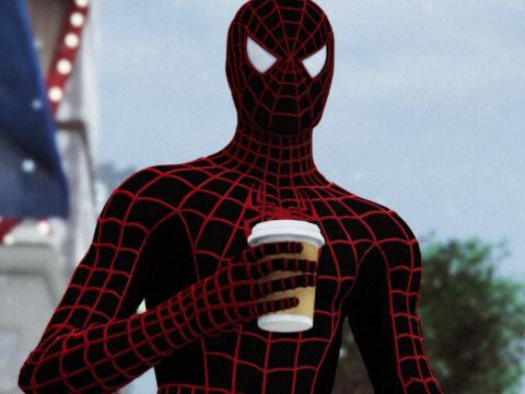 Spiderman Raimi PS4 Miles Morales Retexture