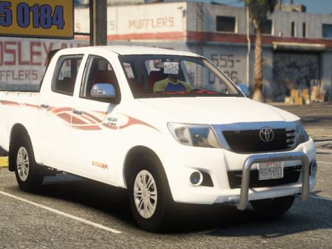 Toyota Hilux 2012-2015 Crew Cab GLX [Add-On / Replace / FiveM / Unlocked] 1.0