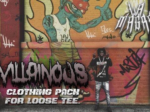 Villainous Clothing Pack for Loose Tee Model 1.0