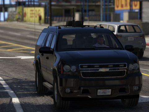 Chevrolet Suburban Secret Service [Add-On | Wipers]