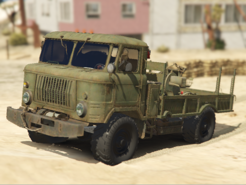 GAZ-66 Light Truck with ZU-23 [Add-on] 1