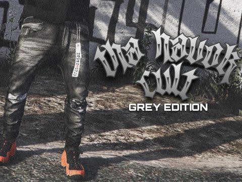 Tha Havok Cult: Grey Edition Sagged Jeans 1.0