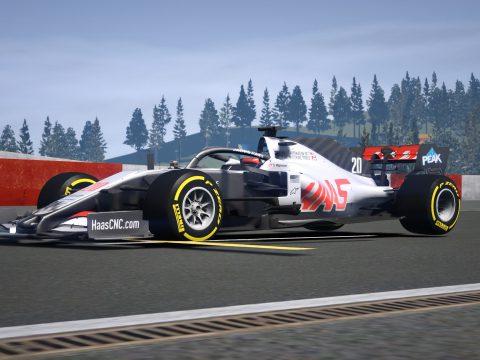 VF20 Haas F1 Formula One [Add on] 1.0